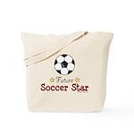 Future Soccer Star Soccer Tote Bag