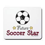 Future Soccer Star Soccer Mousepad