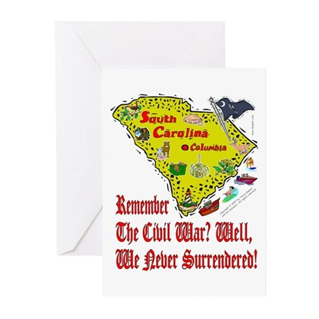 SC-Surrendered! Greeting Cards (Pk of 20)