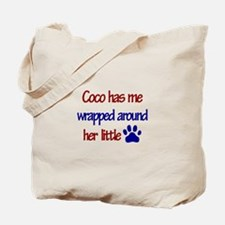 Coco - Has Me Wrapped Around Tote Bag