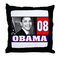USA for Obama 2008 Throw Pillow