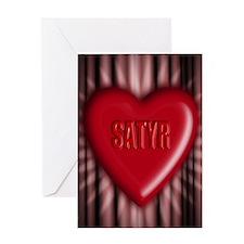 satyr Greeting Card