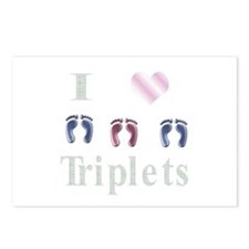 I love triples two boys and a Postcards (Package o