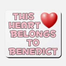 This Heart: Benedict (F) Mousepad