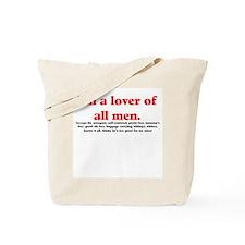 Man Lover Tote Bag