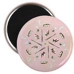 """Vintage Sushi Lover Art 2.25"""" Magnet (10 pack)"""