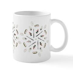 Vintage Sushi Lover Art Ceramic Coffee Mug