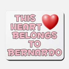 This Heart: Bernardo (F) Mousepad