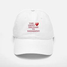 This Heart: Bernardo (F) Baseball Baseball Cap