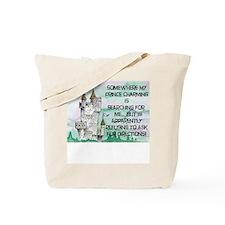 Valentine's Day Prince Tote Bag
