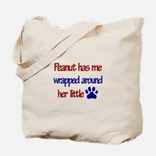 Peanut - Has Me Wrapped Aroun Tote Bag