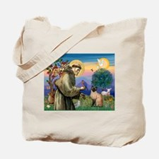 St Francis / Siamese Tote Bag