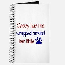 Sassy - Has Me Wrapped Around Journal