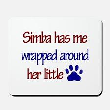 Simba - Has Me Wrapped Around Mousepad