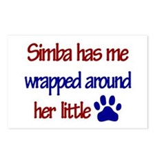Simba - Has Me Wrapped Around Postcards (Package o