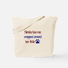 Simba - Has Me Wrapped Around Tote Bag