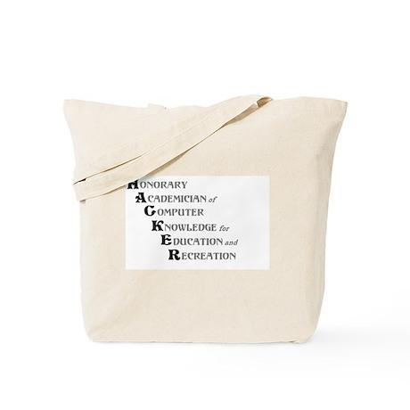 H.A.C.K.E.R. Tote Bag