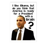 Obama The Brain Postcards (Package of 8)