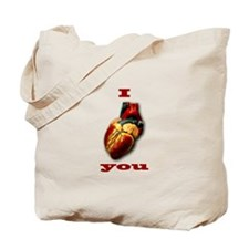 """I Heart You"" Tote Bag"