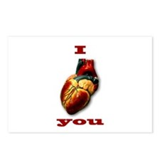"""""""I Heart You"""" Postcards (Package of 8)"""