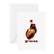"""""""I Heart You"""" Greeting Cards (Pk of 20)"""
