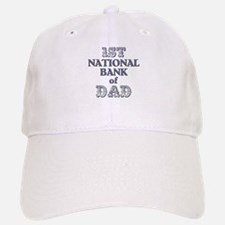 1st National Bank Of Dad Baseball Baseball Cap