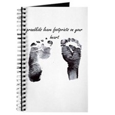 """grandkids leave footprints"" Journal"