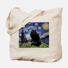 Starry Night /Persian (bl) Tote Bag