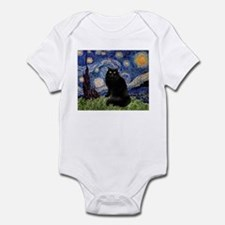 Starry Night /Persian (bl) Infant Bodysuit