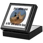 lucky duck wanting more love Keepsake Box