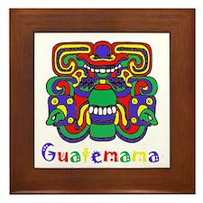 Mayan Guatemama Framed Tile