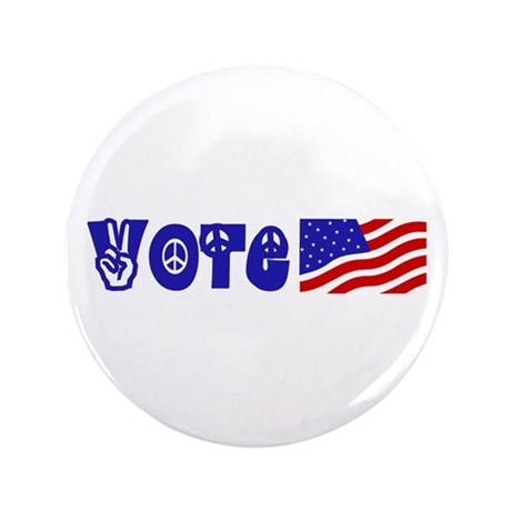 """Vote America! 3.5"""" Button (100 pack)"""