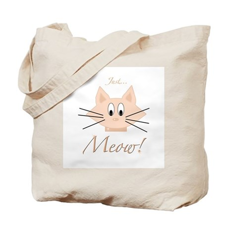 Just Meow Tote Bag