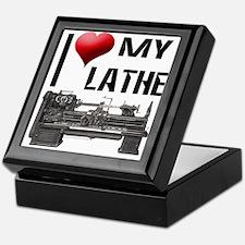 I Heart (Love) My Lathe Keepsake Box