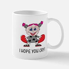 Hope You Cry Goth Heartbreaker Mug