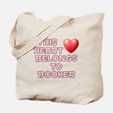 This Heart: Booker (F) Tote Bag