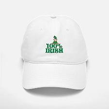 100% Irish Baseball Baseball Cap
