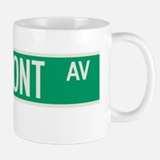 Claremont Avenue in NY Mug