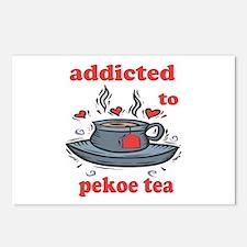 Addicted To Pekoe Tea Postcards (Package of 8)
