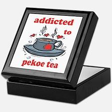Addicted To Pekoe Tea Keepsake Box