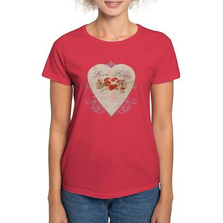 """""""Love Letter"""" Women's Dark T-Shirt"""