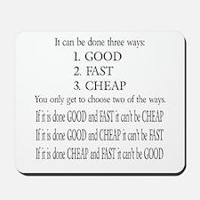 Three Ways Mousepad