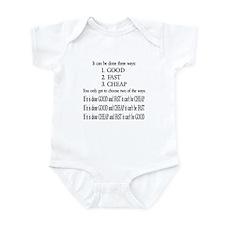 Three Ways Infant Bodysuit