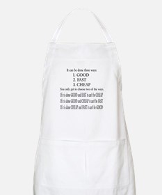 Three Ways BBQ Apron