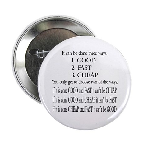 "Three Ways 2.25"" Button (10 pack)"