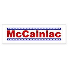 McCainiac Bumper Bumper Sticker