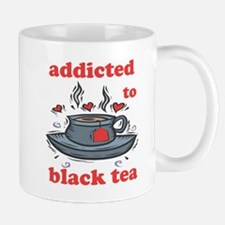 Addicted To Black Tea Mug