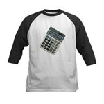 Humor Calculator Awesome Kids Baseball Jersey