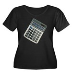 Humor Calculator Awesome Women's Plus Size Scoop N
