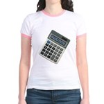 Humor Calculator Awesome Jr. Ringer T-Shirt